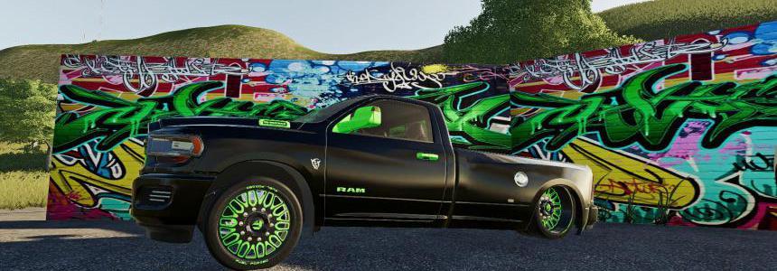 Dodge Ram Hell Truck v1.0