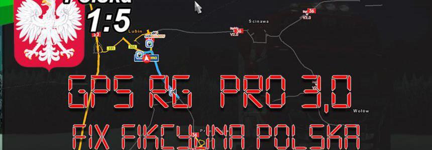 GPS RG PRO v3.0 Fix Fikcyjna Polska