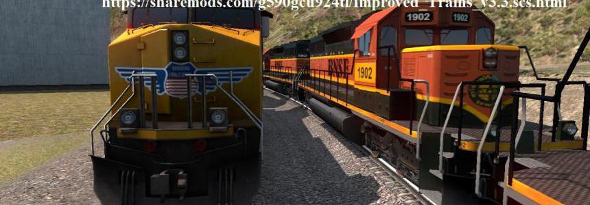 Improved Trains v3.3