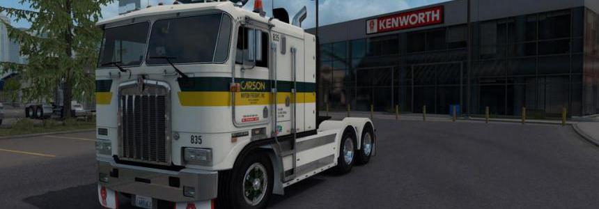 Kenworth K100-E v1.2 ATS 1.36