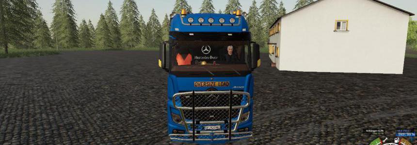 Mercedes Actros SLT 8x4 v1.1