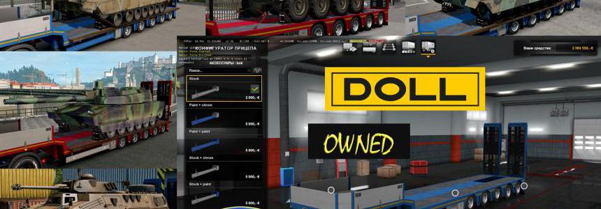 Military Addon for Ownable Trailer Doll Panther v1.3.2