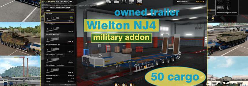 Military Addon for Ownable Trailer Wielton NJ4 v1.5.2