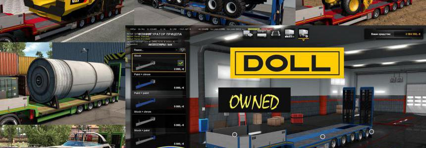 Ownable overweight trailer Doll Panther v1.4.2