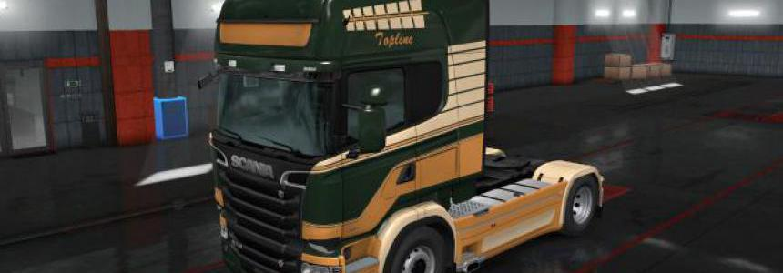 RJL Scania RS & T Canopy PaintJobs 1.36