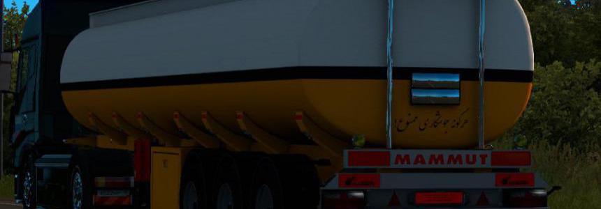 Tank Mammut tanker Zard in ownership 1.36