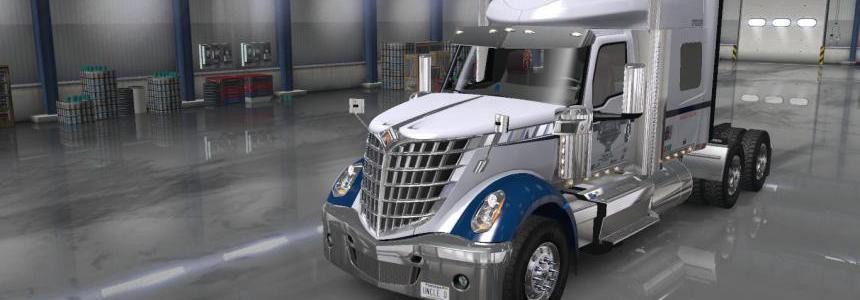 Uncle D Logistics VTC Lone Star Sky Rise Sleeper Skin 1.36