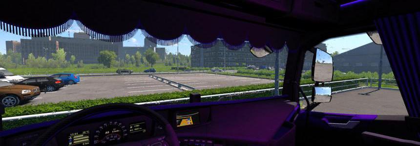 Volvo FH 2012 Black & Purple 1.35.x