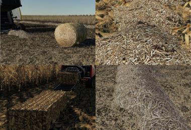Corn & Soybean Straw Bales v1.0.0.0