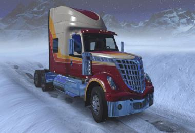 73 Hi-Rise Sleeper for International Lonestar v1.0
