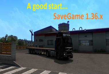 A Good Start SaveGame 1.36