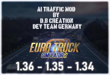 D.B Creation AI Traffic Mod for 1.36 v7.0.0