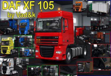 DAF XF 105 by vad&k v6.9 1.36.x