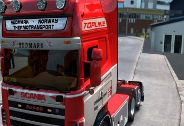Danish Interior + Exterior for Scania RJL 4 Serie v1.0