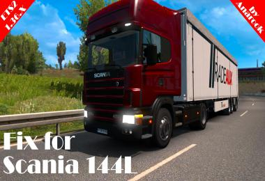 Fix for Scania 144L ETS2 1.36.x