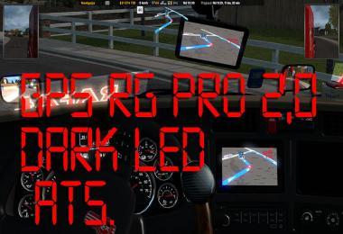 GPS RG PRO DARK LED ATS v2.0