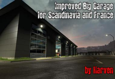 Improved Big Garage v1.3 1.36.x