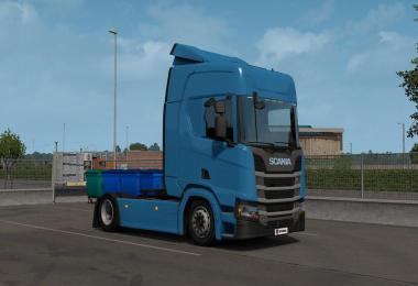Low deck chassis addon for Eugene Scania NG by Sogard3 v1.3