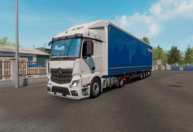 Mercedes-Benz Actros MP4 fix v1.2 1.35+