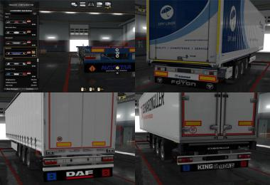 Mudflaps for Own Trailers v3.0