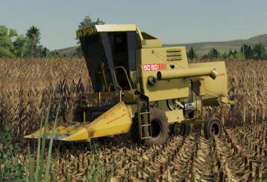 NEW HOLLAND 5050 + Header v1.0.0.0