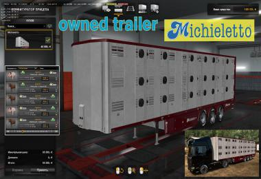 Ownable Livestock Trailer Michieletto v1.0.2