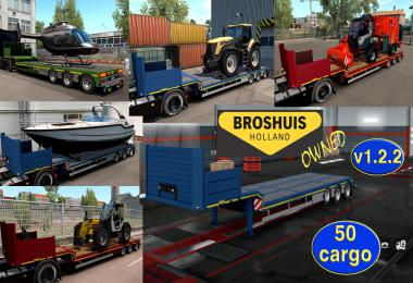 Ownable overweight trailer Broshuis v1.2.2