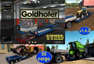 Ownable overweight trailer Goldhofer v1.4.2