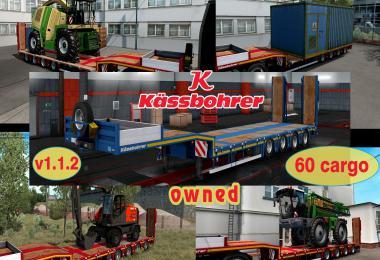 Ownable overweight trailer Kassbohrer LB4E v1.1.2