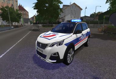 Peugeot 5008 Police National FS17 v1.0