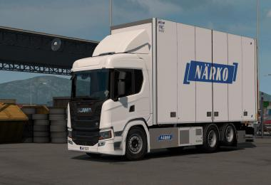 Rigid Chassis Addon for Eugene's Scania NG by Kast v1.2