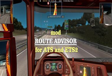 Route Advisor 1.36.x