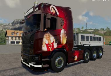 Scania NG Christmas Lantmanenfs v1.1.0.0