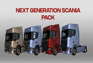 Scania P G R S Next Generation v2.0