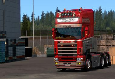 Scania RJL 4 series Hedmark Transport Skin v1.0