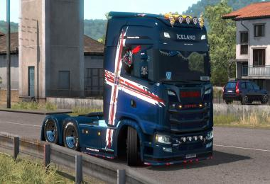 Scania S Iceland Performance Edition v1.0