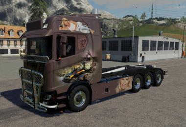Scania trucks v1.3
