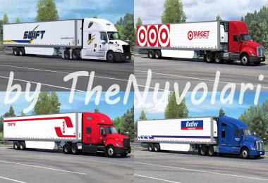 SCS 53ft Trailer Skinpack v1.0