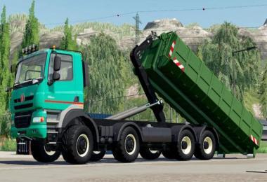 Tatra Phoenix Agro-Truck Hooklift v1.0