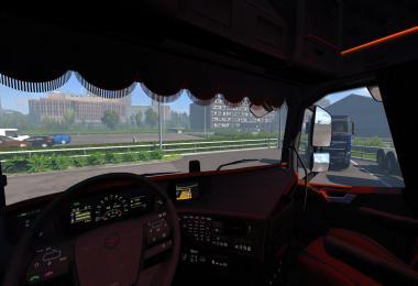 Volvo FH 2012 Black & Amber 1.35.x