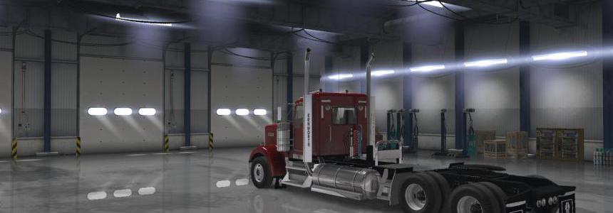 [ATS] Low Cab & Long Chassis Mod [Works on MP] 1.36.x