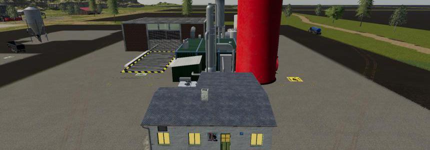 FS19 Crude Oil Refinery v1.0