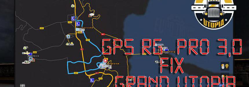 GPS RG  PRO 3.0 Fix Grand Utopia