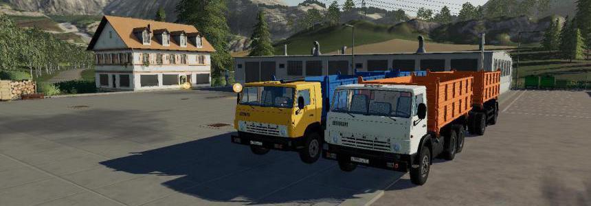 KAMAZ 55102 & NEFAZ 8560 v1.2