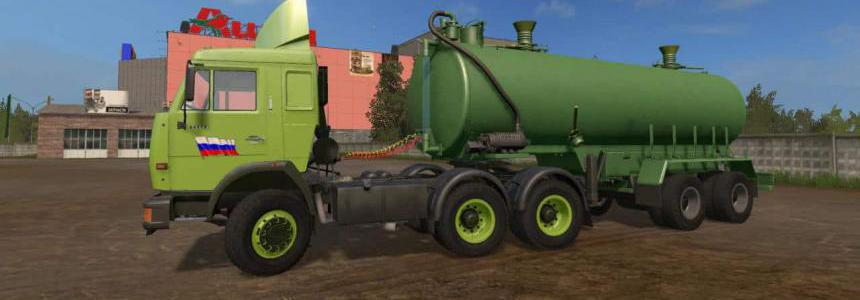 Kamaz for pack the map Russia v3.0.5.2