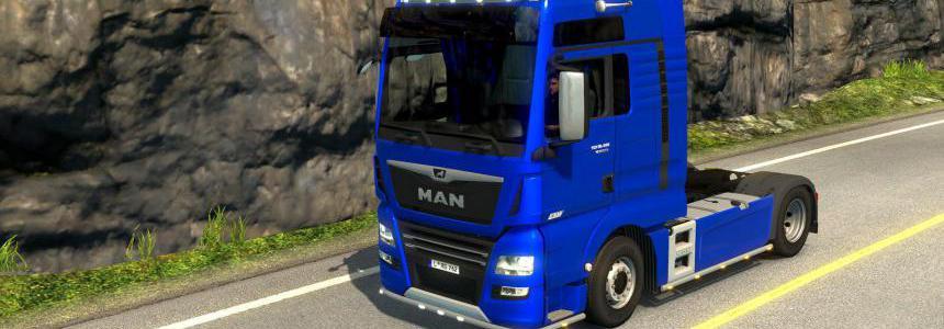 MAN TGX Euro 6 by MADster 1.36.x