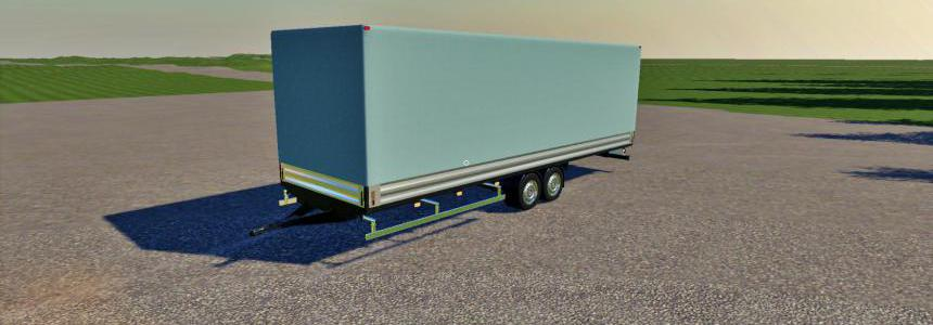 Mercedes Trailer Fs19 v1.0.0.0