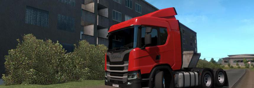 Mighty Griffin compatibility mod for NextGen Scania P G R S 1.36.x