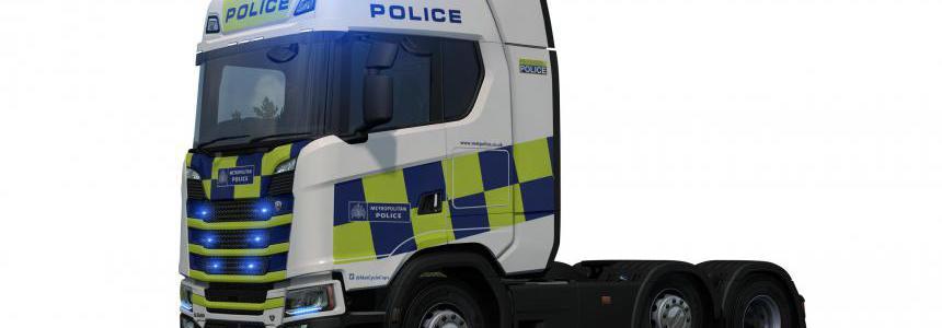 Police NG Scania Skin 2 v1.0