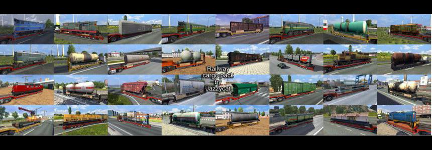 Railway Cargo Pack by Jazzycat v2.1